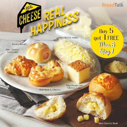 "Say ""CHEESE"" cùng BreadTalk!"